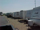 outside rv storage